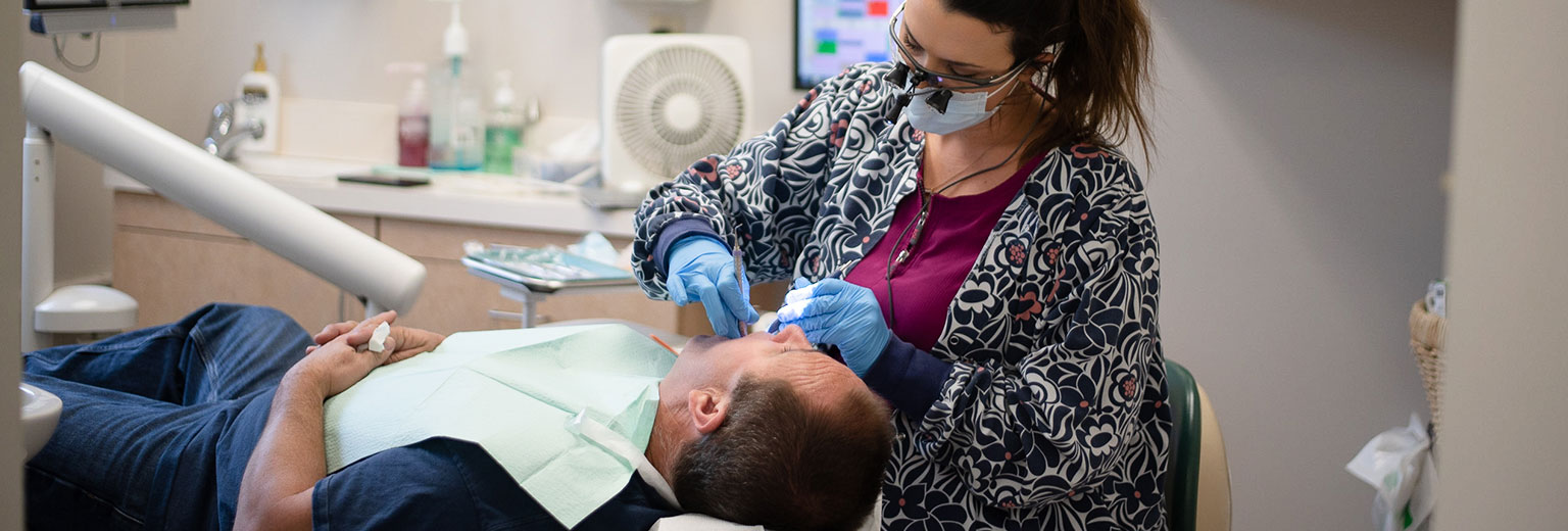 Dental treatment in Greg Campbell DDS